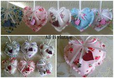 Heart Hangers (perfumed) - The Supermums Craft Fair