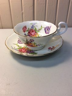 Radford bone china cup and saucer set