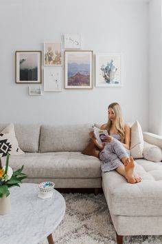 7 ways to create a zen living space & living room reveal! - Choosingchia
