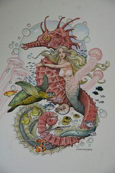 William Stout ~ Mermaid
