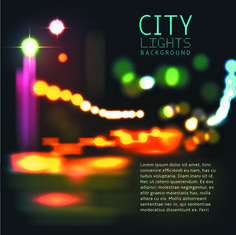 Blurred city night vector background 02 free Free Vector Backgrounds, Vector Free, Web Design, Lights Background, City Lights, Blur, Lorem Ipsum, Night, Vector Background