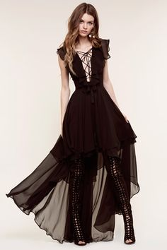 941add5bf6 The Jetset Diaries Dio Maxi in Black Holy Chic