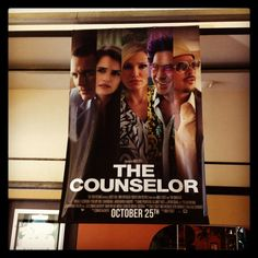 The Counselor opens at a Classic Cinemas Theatre near you tomorrow 10/25!  #Classiccinemas #TheCounselor