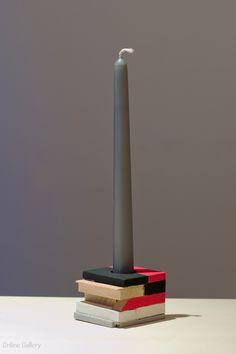Suport-lumanare-lemn-book-design-ciclam-negru-22
