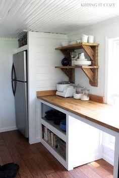 Encased refrigerator