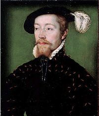 James V (1512 - 1542). King of Scotland from 1513 to his death in 1542. He did not tolerate Protestantism in his court, and persecuted those who followed the new faith. He married twice and had one surviving daughter with his second wife.