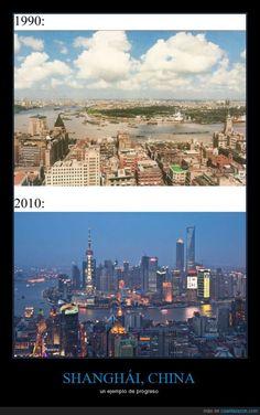 SHANGHÁI, CHINA - un ejemplo de progreso   Gracias a http://www.cuantarazon.com/   Si quieres leer la noticia completa visita: http://www.estoy-aburrido.com/shanghai-china-un-ejemplo-de-progreso/