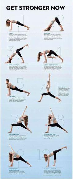 10 strengthening yoga moves
