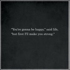 Inspirational Quotes About Strength : QUOTATION – Image : Quotes Of the day – Description Life's lessons… finding out the eat shit and die part first. I will eventually crawl out of this hole and when I do…. watch the duck out! Sharing is Caring –. Family Quotes Love, Great Quotes, Quotes To Live By, Quotes For Being Strong, Finding Strength Quotes, Finding Happiness Quotes, Strength Quotes For Women, Finding Love Quotes, You Are Strong
