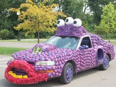This is one funny-looking car!