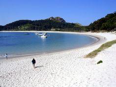 Spain - Playa de Rodas (Islas Cies, Galicia)