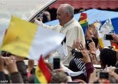 #PopeFrancis in Bolivia: No one needs to be discarded | Vatican Radio