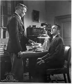 """Montgomery Clift and Richard Widmark in """"Judgment at Nuremberg"""", 1961"""