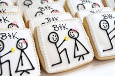 Engagement Proposal Decorated Cookies 1 dz by FlavorPursuit, $37.75