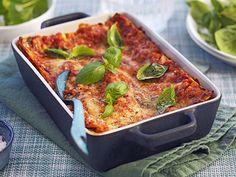 10 lättlagade middagar för dig som vill gå ner i vikt   Allas Recept Lasagna, Quiche, Food And Drink, Pasta, Healthy Recipes, Dinner, Breakfast, Ethnic Recipes, Lasagne