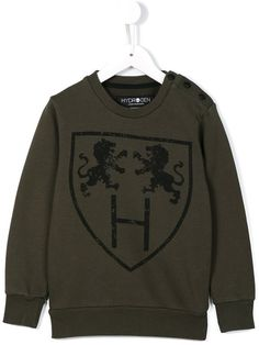 Shop Hydrogen Kids logo print sweatshirt in A Me Mi from the world's best independent boutiques at farfetch.com. Shop 400 boutiques at one address.