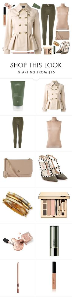 """""""Happy Weekend"""" by sharmarie ❤ liked on Polyvore featuring Aveda, Boutique Moschino, River Island, Lanvin, Vivienne Westwood, Valentino, Ashley Pittman, Sensai, Charlotte Tilbury and Bobbi Brown Cosmetics"""