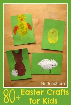 Potato stamping Easter animals!