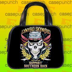 An10-lynyrd Skynyrd God And Guns Rock Handbag Purse Woman Bag Classic