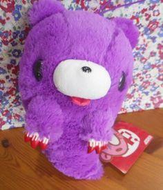 New GLOOMY BEAR Plush GHOST Purple 10.6inch Chax-GP Doll TAITO Japan
