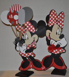 Minnie Mouse Centerpiece. $20.00, via Etsy.