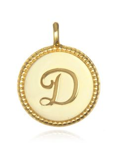 350 hammered goldtone and pearl b monogram initial pendant d initial necklace mozeypictures Images