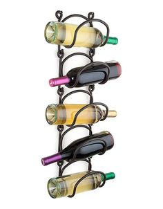 "Wall Hanging Links Wine Rack from WineRacks.com.  The Wall Hanging Links Wine Rack is the most flexible wine rack we offer. As your wine collection grows, you can add more links. And as you drink bottles, you can easily take away links so your rack always looks full! Each link sold individually.  Dimensions: 6"" x 6"" x 5"""