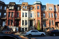Jefferson Avenue townhouses, Bed-Stuy