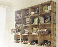 shelf....I made one of these along time ago...and how I wish I still had it.