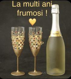 Happy Birthday Greetings Friends, Champagne, Tableware, Dinnerware, Tablewares, Dishes, Place Settings