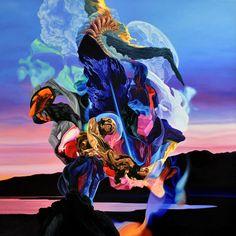 Metanoia II - oil on canvas - 100cm x 100cm