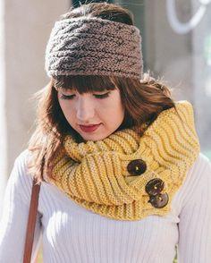 Knit Winter Headwrap
