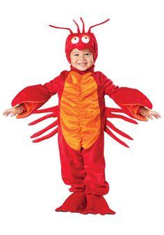 Toddler Red Lobster Costume - Sebastian Costume Little Mermaid