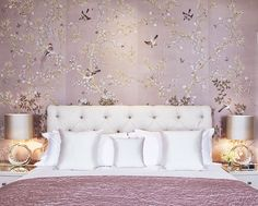 {design & décor | colour inspiration : smokey violet & dusky lavender} - {this is glamorous} Chambre parme/lavande