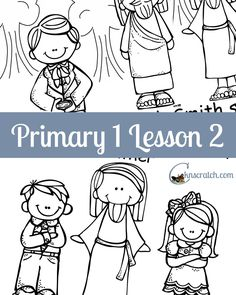 Awesome lesson helps, handouts, and even a teacher study for Primary 1 Lesson 2: Heavenly Father has a Body. Can't believe it is all free!