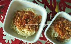 Journal of a nutritionist mom : Easy 5 ingredients spaghetti bolognese