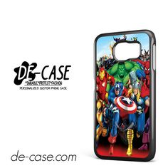 Marvel Heroes Comic Poster DEAL-6952 Samsung Phonecase Cover For Samsung Galaxy S6 / S6 Edge / S6 Edge Plus