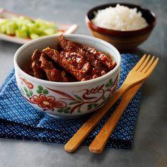 Rindfleischstreifen indonesisch - Ein Rezept für Prep&Cook von KRUPS