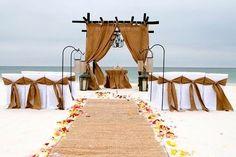 Decoración: 10 montajes para una boda en la playa - Los detalles - NUPCIAS Magazine