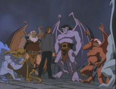 Gargoyles - loved this show.