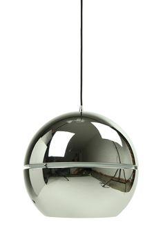 Vibeke Premium Mirror Ball Pendant Light in Chrome | Wayfair Australia