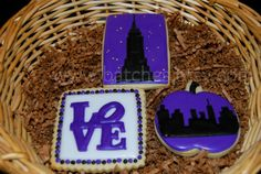 NYC  One Dozen Decorate Cookies  Platter Sized by batches on Etsy, $27.00
