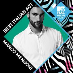 BOOM! Il guerriero @MengoniMarco è il vincitore per #BestItalianAct #MTVEMA! Sostienilo su http://mtvema.com .