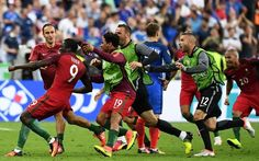 Euro 2016 final: Portugal vs France - live: Ronaldo leaves pitch in tears after picking up early...