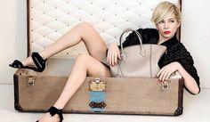 Michelle Williams   Louis Vuitton S/S 2014 #campaign #fashion