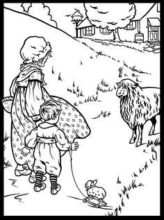 1000 images about little bo peep on pinterest little bo for Little bo peep coloring pages