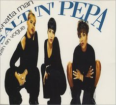 """For Sale - Salt N Pepa Whatta Man UK  CD single (CD5 / 5"""") - See this and 250,000 other rare & vintage vinyl records, singles, LPs & CDs at http://eil.com"""