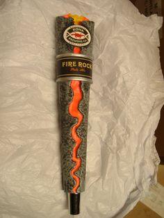 Amazing Tap Handles: Tap Handle #73: Kona - Fire Rock Pale Ale