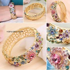 http://www.vancaro.com/new-elegant-vintage-design-colorful-flowers-cubic-zirconia-alloy-plated-gold-women-s-bangle.html
