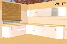 ModTheSims - 5 Jazz Kitchen Recolors - As Requested Pelo Sims, Sims 2, Room Set, Jazz, Kitchen Cabinets, Games, Storage, Furniture, Home Decor